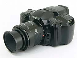 minolta ms-c 1100 still video camera 1992