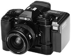 minolta sb-70/s and 90/s still video camera system 1987