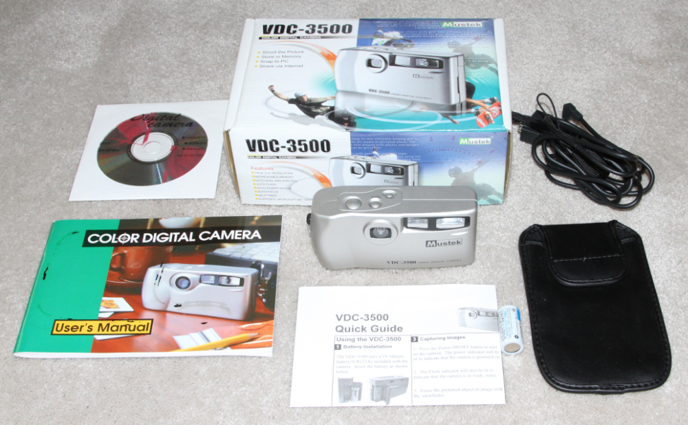 Mustek VDC 3500 digital camera kit