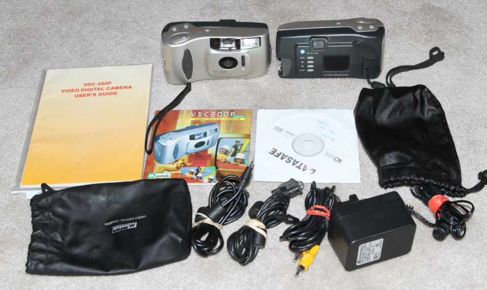 Mustek VDC-200 digital camera kit