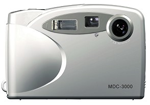 mustek mdc-3000 vintage digital camera 2001