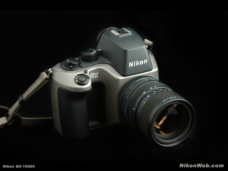 nikon qv-1000c monochrome still video camera 1988