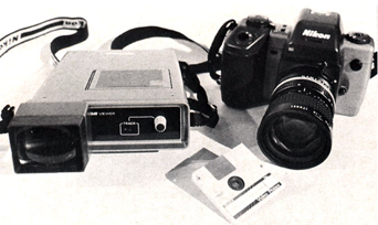nikon svc still video camera prototype set 1986