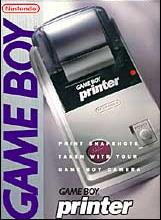 nintendo gameboy printer pocketprinter, thermal printer 1998