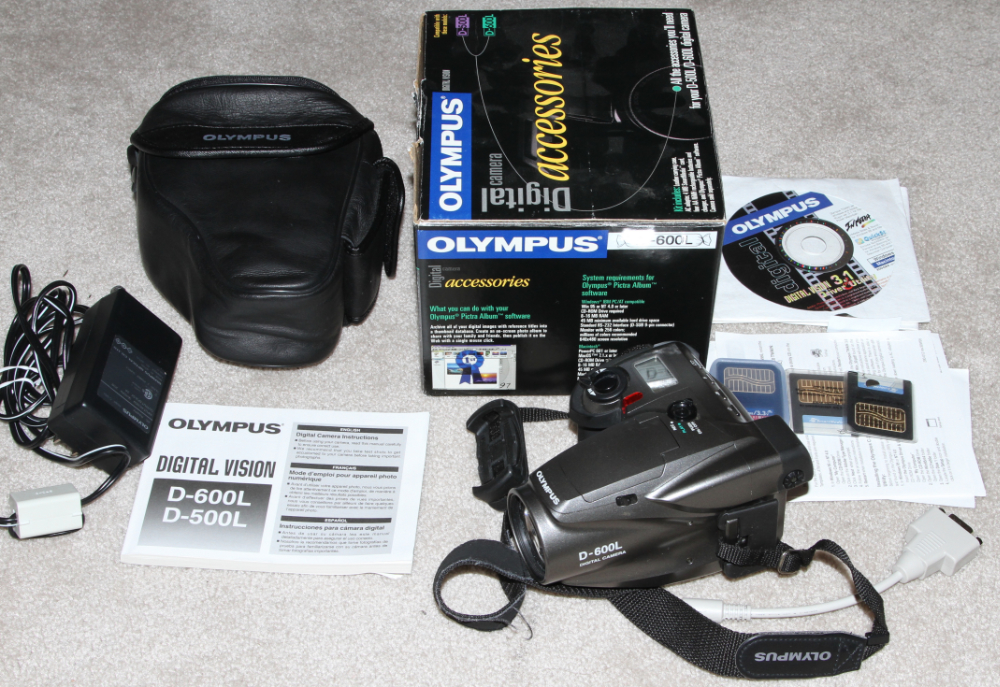 Olympus Camedia C-1400L digital camera kit