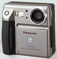 panasonic cardshot nv-dcf-1, konica q-mini digital camera 1997