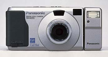 panasonic cardshot nv-dcf5 vintage digital camera 1998