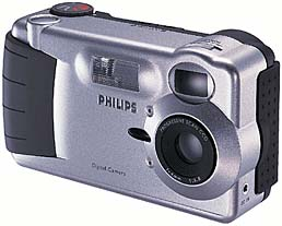 philips esp50, esp60 vintage digital camera 1998