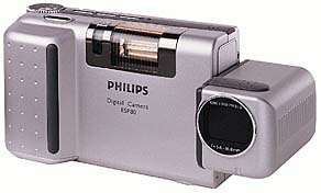 philips esp80, ricoh rdc 4300, rdc dc-4 vintage digital camera 1998