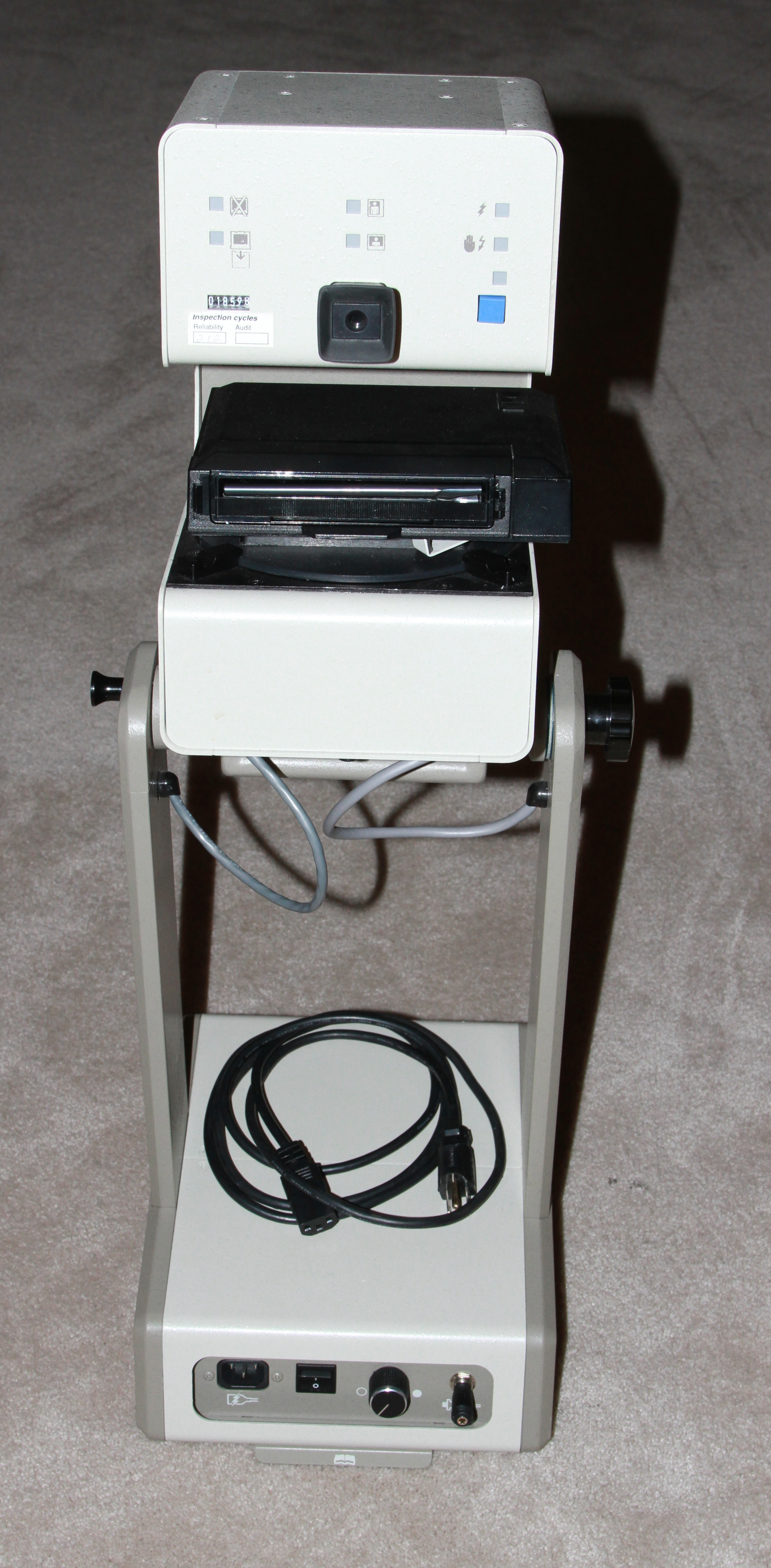 polaroid se-5 special events camera rear view 1988