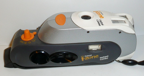 polaroid i-zone digital combo combinatin instant film and digital camera 2000