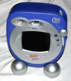 polaroid my photo booth instant filmcamera 1999