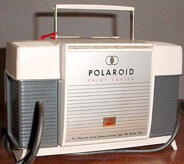 polaroid printer copier 1958