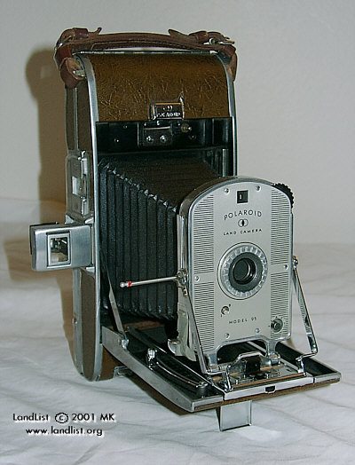 Polaroid model 95 vintage instant film camera 1948