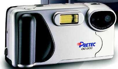 pretec dc-300, premier dc-300 digital camera 1997