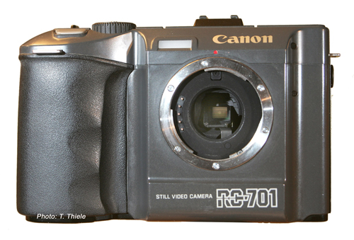canon rc-701 without lens 1986