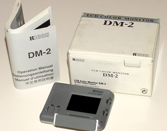 ricoh dm-2 monitor for ricoh rdc-2 cameras 1996