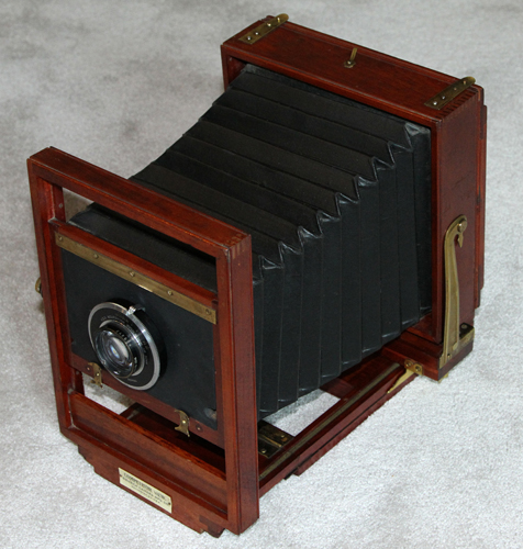 seneca competitor professional wood view camera,marion carpenter white house photographer 1907