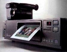 sony cvp-g500 still video recorder and printer 1990