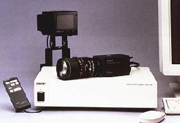 sony dkc-5000 pc1 catseye digital studio camera in use 1993
