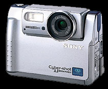 sony dsc-55v vintage digital camera 2000