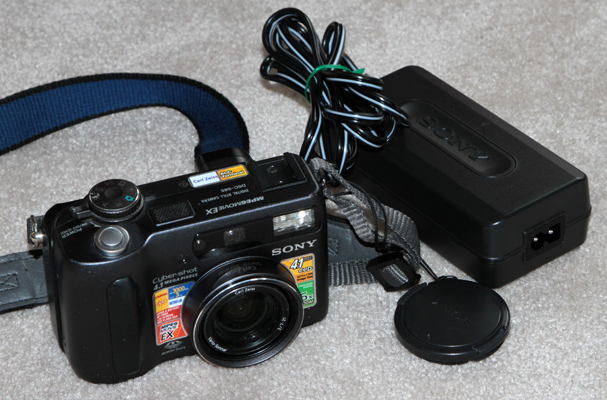 sony dsc-s85 vintage digital camera 2001