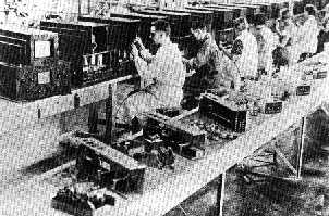 german tv production line in 1935