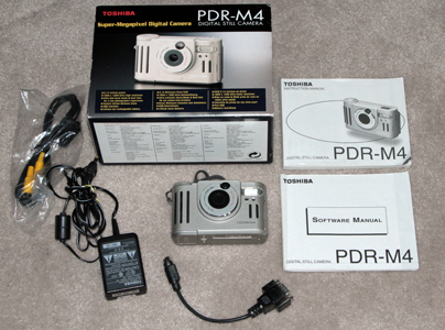 toshiba pdr-m4 vintage digital camera 1999