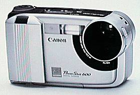 canon powershot 600 digital camera 1996