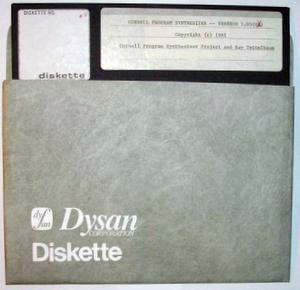 eight-inch floppy diskette ibm 1979