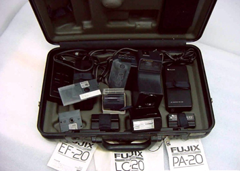 fujix es-20 still video camera  set large 1988