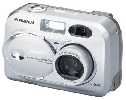 fuji fp 2600 zoom vintage digital camera 2001