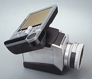 hasselblad  digital camera design by stina nilimaa student at umea institute of design 1994