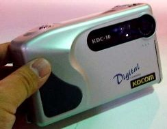 kocom kdc-10, ansco dz-400 digital camera 1997