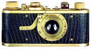 first leica 35 mm film camera , leica I, by oskar barnack 1924
