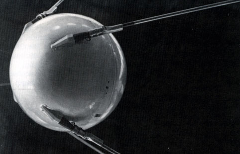 sputnik 1, first space satellite 1957
